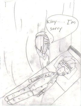 kxk pic Klay in the hosptil by Lilychan6