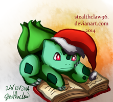 Christmas Eve Reading by stealthclaw96