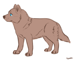 Husky or Wolf Pup Lines - PAY TO USE by ForgottenAmnesty