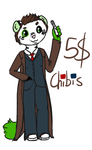 $5 Chibi commissions :OPEN: by DeathByViola