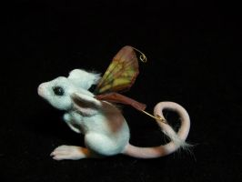 furry fairy mouse by AmandaKathryn