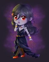 Chibi prize for Barn-swallow + [SPEEDPAINT] by Solceress