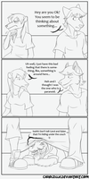Shhhh - Comic by Carolzilla