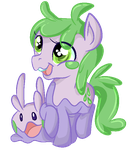 Goomy by PonyPaintSplatter