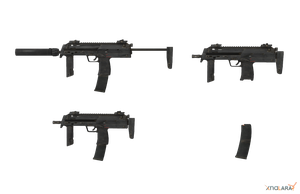 MP7 Pack (No Mag, Stock Folded, No Silencer) by sadow1213