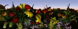 Floral Tableau by kparks