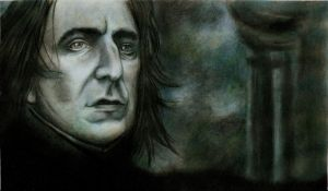 Severus Snape by Eileen9