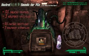 Hectrol ALIENz Sounds for PCs-Fallout 3 and NV mod by hectrol