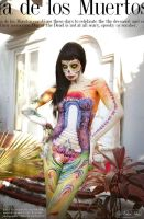 Body Art The Day of the Dead Sugar Skull by NatashaKudashkina