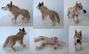 Balto Plushie V.1 by SarityCreations