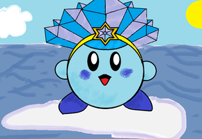 Ice Kirby by Aggie123