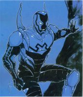 WonderCon Blue Beetle Sketch by Hodges-Art