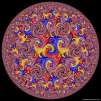 Hyperbolic Tessellation by bugman123