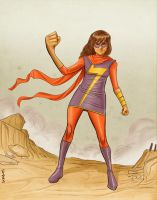Ms. Marvel by Supajoe