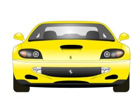 Ferrari 550 Maranello front by Mrpalaces