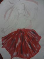 Colourful Skirt by Serena4