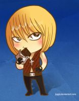 Death Note - Mello Chibi by jiggly