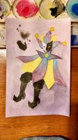 Dimentio in Watercolor by LovelyCuttlefish