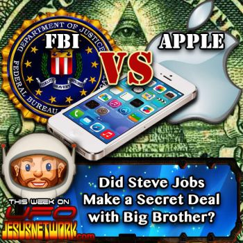 FBI vs Apple: Will There Be a Secret Deal? by UFOJesusNetwork