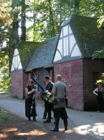 LARPers in Mt Tabor Park by lost-capella