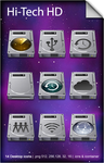 Hi-Tech HD OSX Icons by GianlucaDivisi