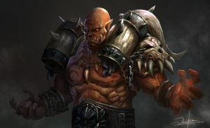 Garrosh Hellscream by vanshen0
