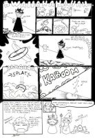 Two silly LOTR-comics by redletalis