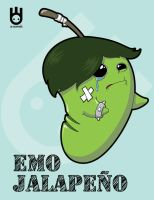 Emo Jalapeno by OE Graphics by Superchivo