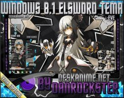 Eve Elsword Windows 8.1 Theme by Danrockster