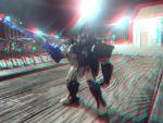 Optimus Primal in 3D by LittleBigDave