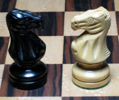 Chess Set - Knights by hever-stock