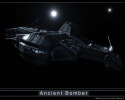 Ancient Bomber Contest Scene 1 by Mallacore