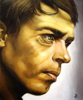 Jacques Brel by arcitenens