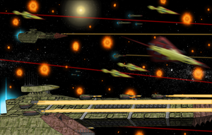 Battle of Alpha Ceti: Capitol Strike by EmperorMyric