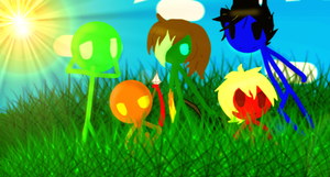 ~.: Axis Of Five Backround :.~ by HegyThePuffball01