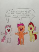 The CMC Singing Rubber Duckie by nintendolover2010