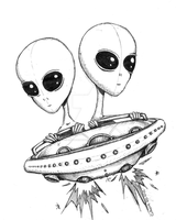 UFO by CatherineDS