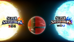 Super Smash Bros. Wii U/3DS Logo Wallpaper #88 by TheWolfBunny