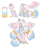 Fluffy Pony adopt auction. -Clossed- by OfficerMittens
