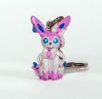 Sylveon Charm by WispyChipmunk