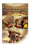 Gladiator page digital colors by DustinEvans