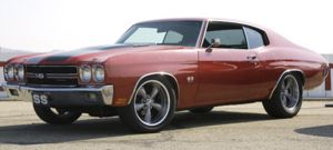Perfect Chevelle SS 454 by Beowulf-BX
