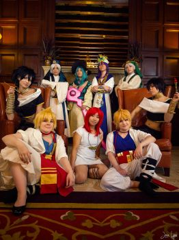 Fanime Magi Group Shoot 1 by SNTP