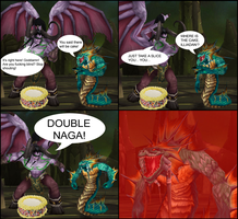 DOUBLE NAGA by sweetietweety111