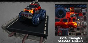 monster truck by estivador