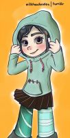 Vanellope by n4c9s