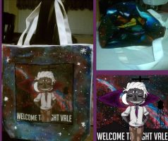Bag Custom: Welcome to Night Vale by PeppermintCactus