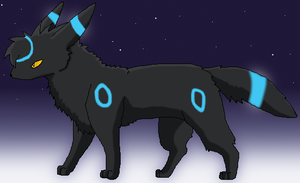 Prize: Shiny Umbreon by K3RI1