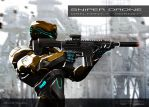 Sniper Drone by Nero-tbs