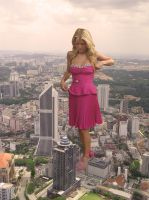 Jessica Simpson in Kuala Lumpur by Accasbel